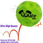 Wuff Ball | Green - Dog Ball With Ultra High Bounce