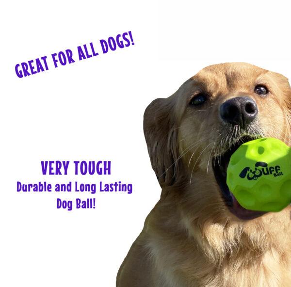 Wuff Ball | Green - Very Tough Dog Ball