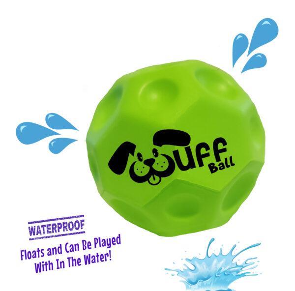 Wuff Ball | Green - Waterproof Dog Ball That Floats