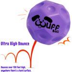 Wuff Ball | Purple - Dog Ball With Ultra High Bounce