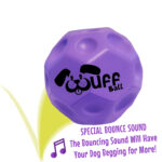 Wuff Ball | Purple - Dog Ball With Special Bounce Sound